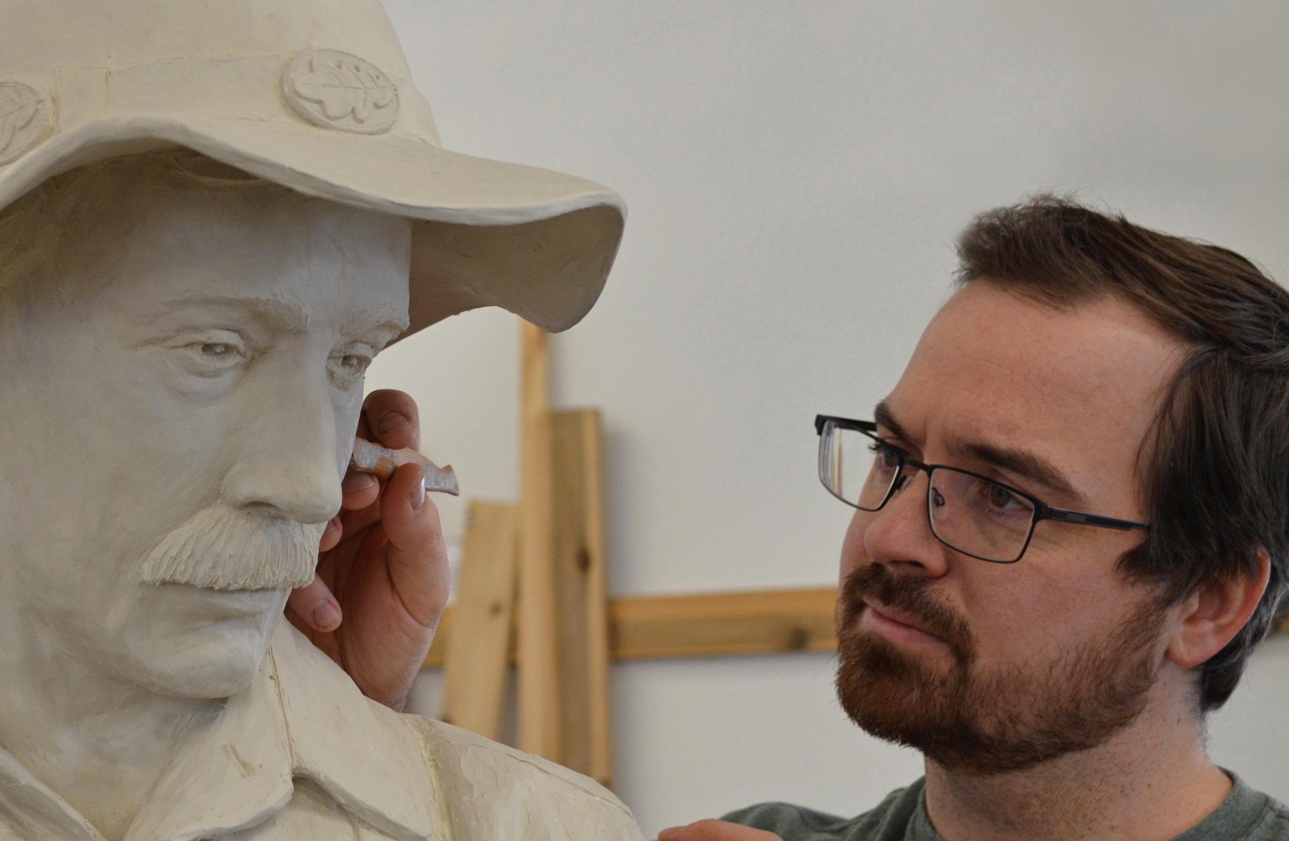 Sudbury sculptor casts his legacy in bronze